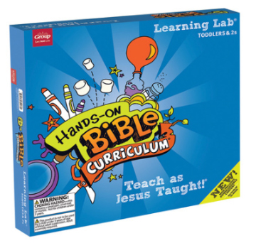 The product kit of Hands-On Bible Curriculum for Toddlers and 2s, which is the curriculum this Jericho song is from.
