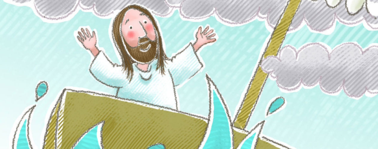 Sunday School Lesson Jesus Calms The Storm On The Sea Of